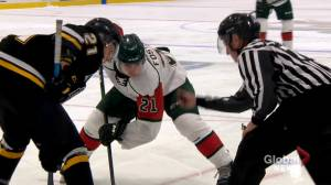 Halifax Mooseheads return to ice with a plan to compete and keep COVID-19 at bay (02:04)