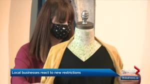 Alberta businesses react to new COVID-19 restrictions (02:53)