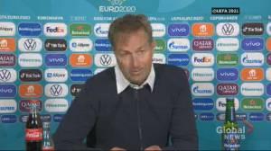 Denmark soccer officials describe reaction from team after Christian Eriksen's collapse (04:39)