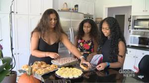 Some Greater Toronto Area families opt for small, simple pandemic Thanksgiving (02:11)