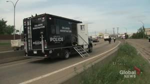 Fatal motorcycle collision on Yellowhead Trail in northeast Edmonton (01:08)