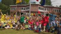 Click to open video COVID-19 third wave casts doubt over Canada's summer camps