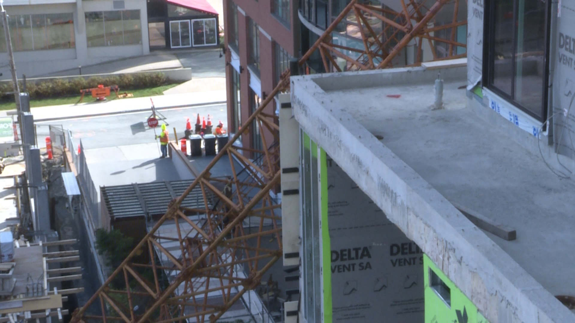 Progress slow but steady at site of collapsed crane in Halifax