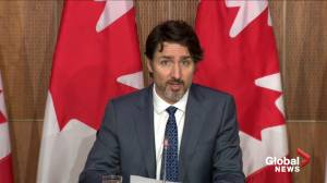 Trudeau says new agreement with Pfizer to double COVID-19 vaccine doses in coming months (01:19)