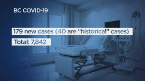 B.C. health officials report 179 new COVID-19 cases, 40 historical cases and three deaths