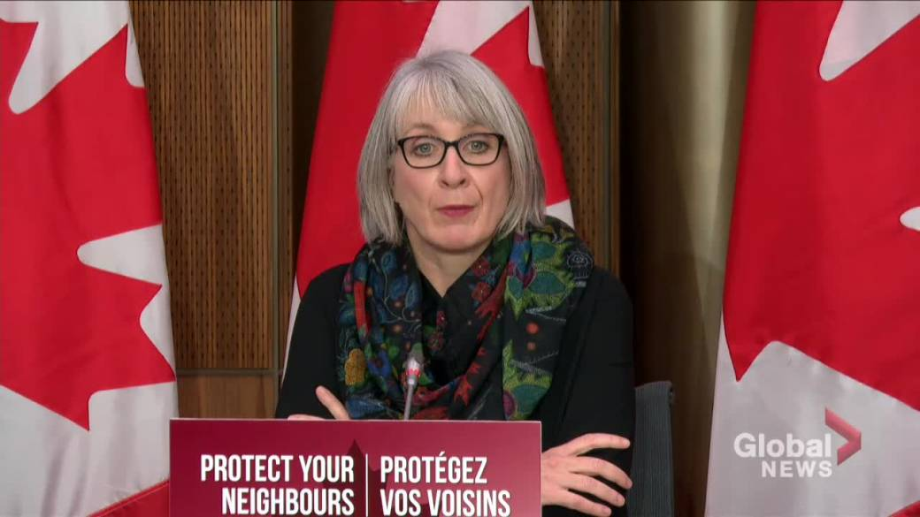 Click to play video 'Coronavirus: Canada's health minister cautions against vaccine misinformation'