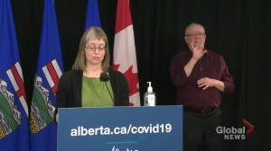 Alberta Health COVID-19 update for Feb. 16, 2021 (02:29)