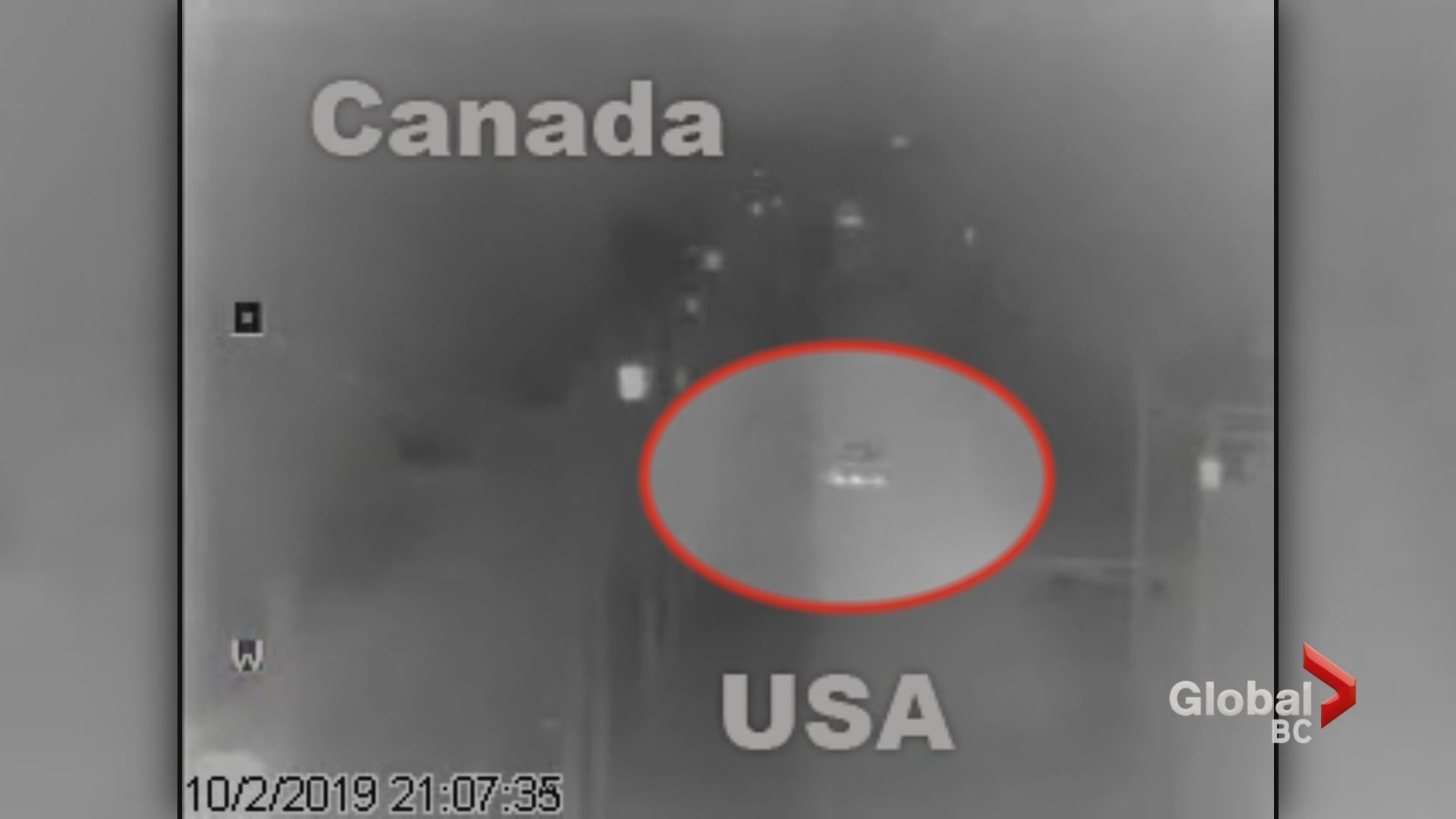 Newly released video seems to contradict claim by British family that they ended up in U.S. South of Langley by accident