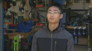B.C. teen printing and shipping face shields to U.S. doctors