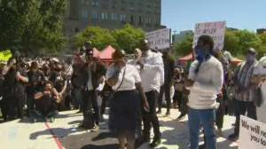 Montreal police chief unwelcome at city's anti-racism protests