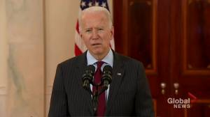 President Biden reflects as U.S. passes 500,000 COVID-19 deaths (01:13)