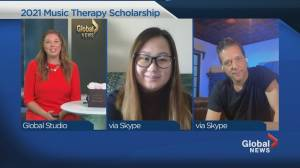 George Stroumboulopoulos Music Therapy Scholarship (03:57)