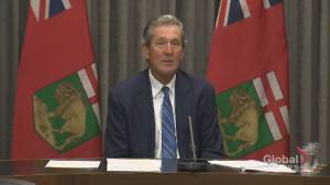 Manitoba premier says it's 'not possible to undo the damage of this pandemic' for every small business (00:56)