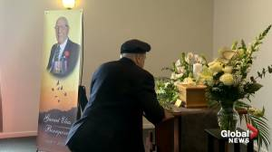 Funeral for Chateaugay WW2 veteran
