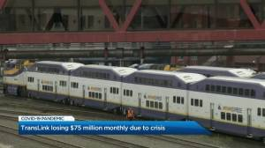 TransLink losing $75-million monthly due to COVID-19 pandemic (03:08)