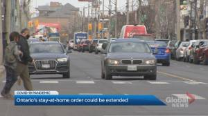 COVID-19: Ontario considering extending stay-at-home order (01:52)