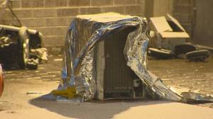 Toddler dead after hit by falling air conditioning unit in Scarborough