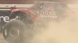 Calgary-born professional driver living a monster dream