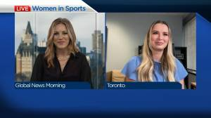 Discussion on women in sports on International Women's Day (03:39)