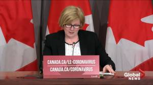 Coronavirus: Liberals table Bill C2, the Canada Recovery Benefit (01:46)