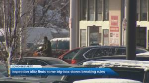 Inspection blitz finds some big-box stores breaking rules (04:49)