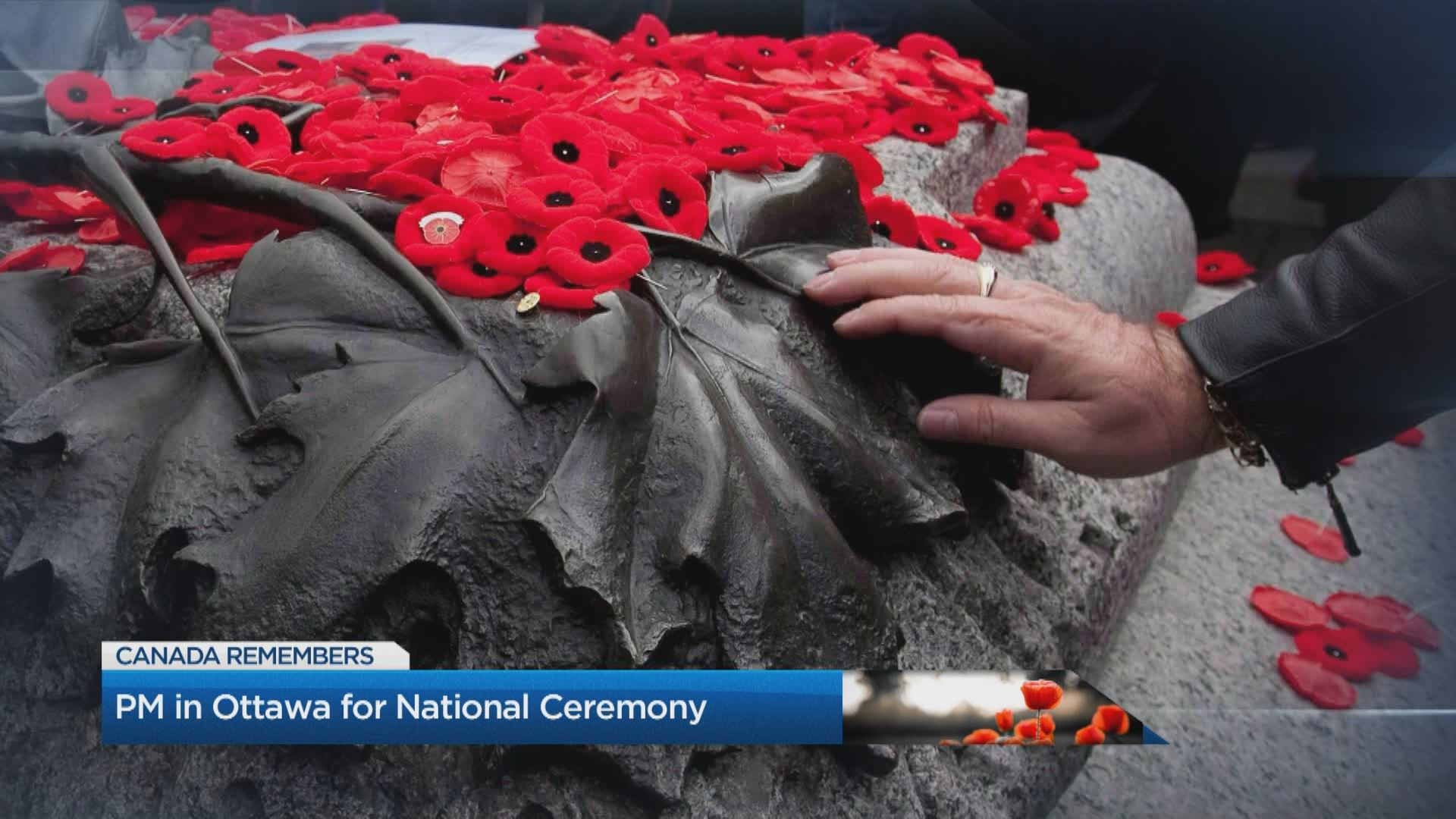 PM in Ottawa for National Ceremony