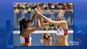 Tokyo Games: Volleyball takes center stage for Team Canada competitions on Day 1 (01:58)