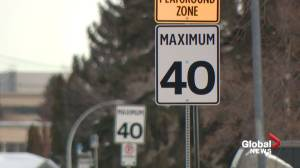 Edmonton looking at lower speed limits in residential areas