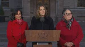 Freeland says she'll still have 'responsibilty' for CUSMA negotiation