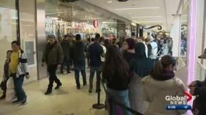 Edmonton Boxing Day shopping