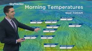 Kelowna Weather Forecast: April 14