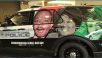Black History Month police cruisers scrutinized