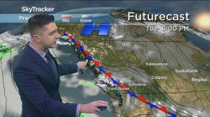 Kelowna Weather Forecast: February 8 (03:31)