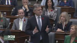Bounced after St. Barts holiday trip, Rod Phillips back in Ontario cabinet (01:48)