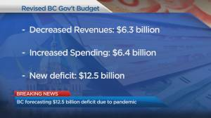 First look at B.C. economy since pandemic began, update on Canada-U.S. border closure