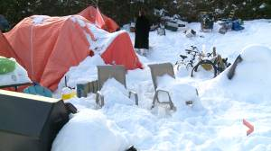 Fredericton tent city residents evicted