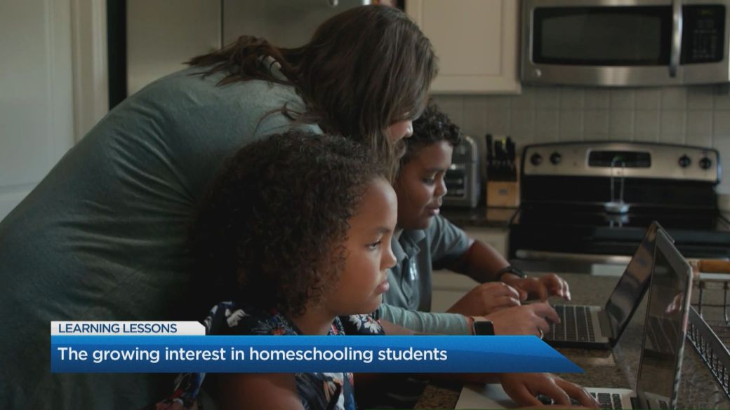 Click to play video: 'Learning Lessons: Homeschooling'