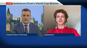 Saskatoon diver eyes Olympic spot after bronze-medal performance (03:59)