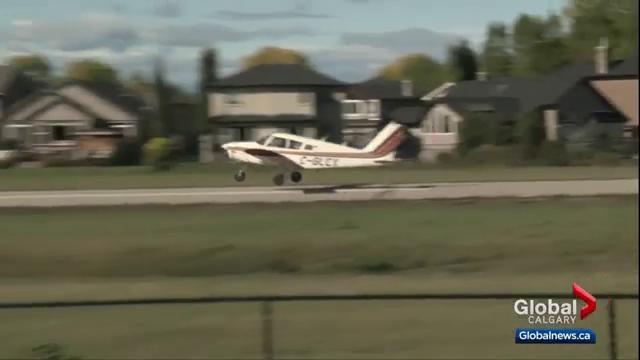 Okotoks residents push back against flight school opposition