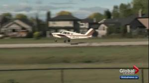Okotoks residents push back against flight school opposition