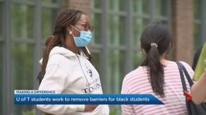Scholarship fund for Black MBA candidates at University of Toronto (02:44)