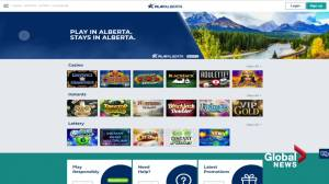 Provincial online gambling website 'PlayAlberta' now live (01:49)