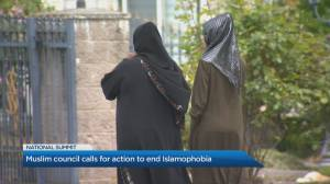 Canadian Muslims calling for action to end Islamophobia (05:14)