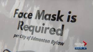 Edmonton bringing back mask mandate welcome news for doctors, businesses (02:37)
