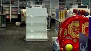 Duty-free stores struggling as borders remain shut (02:29)