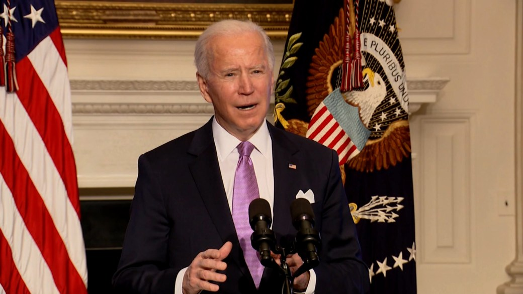 Click to play video 'Coronavirus: Biden says US will be able to vaccinate all Americans by end of summer'