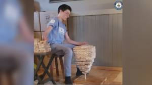 Salmon Arm boy breaks another Guinness World Record and set another (01:04)