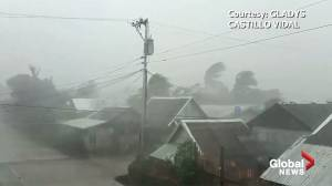 Typhoon Kammuri brings high winds on approach to the Philippines