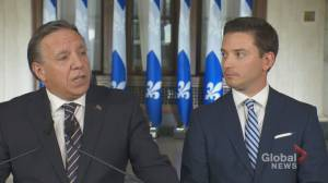 New portfolio for CAQ's Immigration Minister (02:01)