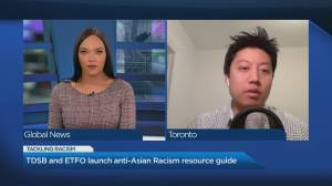 TDSB and ETFO launch anti-Asian racism resource guide (04:51)